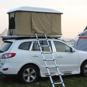 Vehicle Hard White Shell Fiberglass Car Roof Top Tent pictures & photos