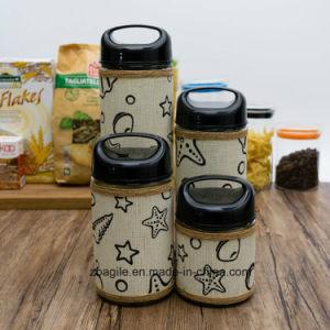 Factory Wholesale Bottle New Ocean Design Elegant Storage Glass Jar (100080) pictures & photos