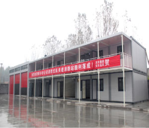 Fireproof Sandwich Panel Shipping Container Dormitory pictures & photos