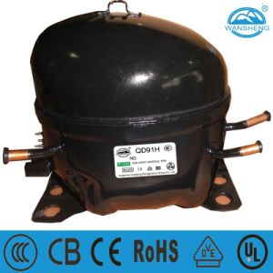 Hermetic Piston Refrigerator Compressor (QD91H) pictures & photos