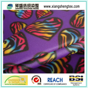 Coated Printed Oxford Polyester Fabric for Bag or Luggage pictures & photos