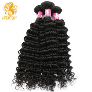 3 Bundles Brazilian Deep Curly Virgin Hair Weave, Unprocessed Brazilian Virgin Hair Deep Wave Maxine Brazilian Curly Virgin Hair pictures & photos
