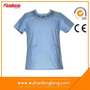 100%Cotton Hot Sale Nice Hospital Uniforms Nurse Uniform