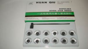 Huanqiu Brand Seven Star Dermal Needle with 12 Head pictures & photos