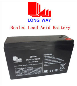 12V Electric Toy UPS Rechargeable Sealed Lead Acid Battery pictures & photos
