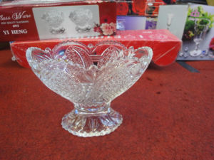 Machine Made New Products Clear Hot Sale Ice Cream Bowl Kb-Hn0623 pictures & photos