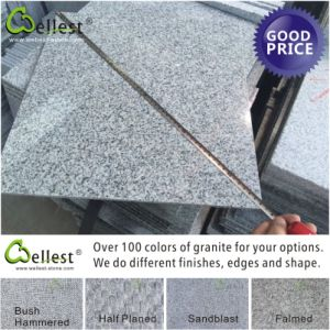 Grey Granite Polished and Flamed Tile for Wall Cladding and Floor pictures & photos