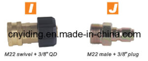 """Pressure Washer Brass Coupler (M22 swivel + 3/8"""" QD) pictures & photos"""
