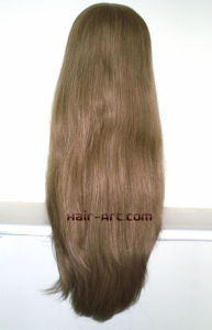 "Full Lace 100% Virgin European Hair Made Sheitels Kosher Wigs-26"" pictures & photos"