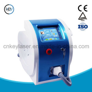 Portable Q Switched ND YAG Laser/Tattoo Removal Machine pictures & photos