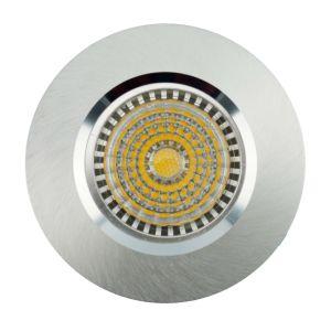 Lathe Aluminum Halogen GU10 MR16 Round Recessed Fixed LED Downlight (LT2002) pictures & photos