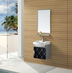 Modern Style Stainless Steel Bathroom Vanity (T-9447B) pictures & photos