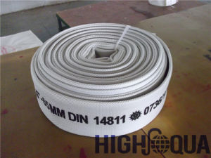 Canvas Cover PVC Lining Lay Flat Hose pictures & photos