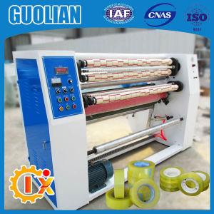 Gl-215 Carton Adhesive BOPP Tape Slitting Machine pictures & photos