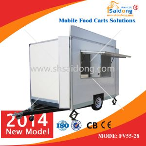 CE Certification Customised Food Vans/Food Carts with High Quality