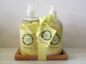 Lemon Sage Hand Soap& Hand Lotion Gift Set