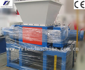Double-Shaft Plastic Shredder Machine with CE pictures & photos