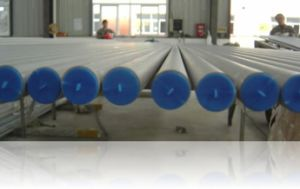 Cold Drawn / Pilgering Seamless Stainless Steel Pipes Schedule 10 Grade B S31803 32750 Steel Pipes pictures & photos