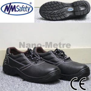 Nmsafety Cow Split Leather Work Land Safety Shoes with CE pictures & photos