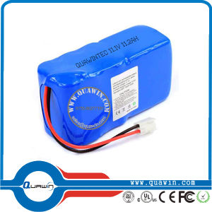 11.1V 11200mAh Li-ion 18650 Battery Pack pictures & photos