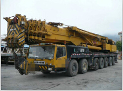 350ton Used Germany Liebhe Mobile Crane All Terrain Crane (LTM1350) pictures & photos