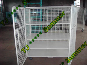 Heavy Duty Steel Steel Foldable Wire Roll Container pictures & photos