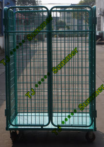 Heavy Duty Steel Foldable Roll Container for Sale pictures & photos