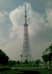 China TV&Broadcast Tower with Angle Steel and Pipe Steel pictures & photos