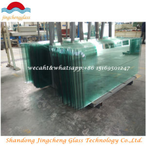 Flat Tempered Glass for High Intensity and Heat Stablity pictures & photos