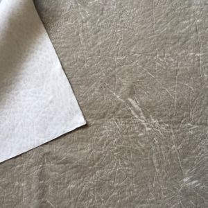 Polyester Suede Fabric with Leather Looking and Easy Cleaning Surface (suede) pictures & photos