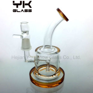 Clear Glass Bubbler Water Pipes Hookah Smoking Pipe pictures & photos