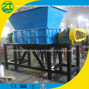 Double-Shaft Waste Tyres Shredder Machine pictures & photos