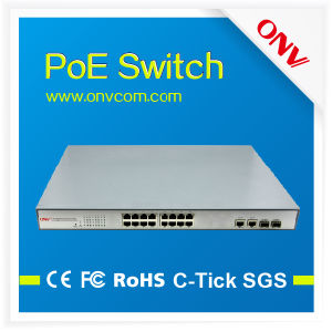 16 Ports High Power Poe Switch in High Quality