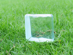 House Decorative Curv-End Glass Brick pictures & photos