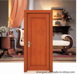 Turkish Style Simple Design Classic Solid Wooden Door pictures & photos