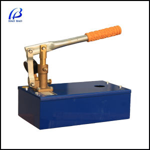 Hand Pressure Manual Hydraulic Test Pump (SY-100) pictures & photos