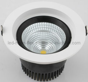 9W Recessed LED Ceiling COB LED Downlight pictures & photos