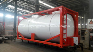International Standard 20feet and 40 Feet LNG Container Tank with ASME Approved