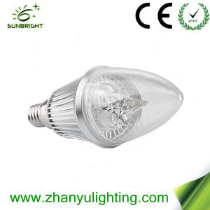 High Power 100-240W LED Candle Bulb pictures & photos