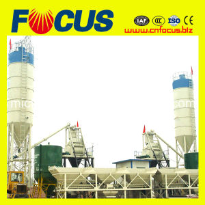 25m3/H, 35m3/H, 50m3/H Small Stationary Concrete Mixing Plant with Low Price pictures & photos