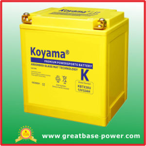 High Quality Motorcycle Battery 32ah 12V pictures & photos