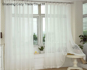 Cheap Good Quality Sheer Curtain pictures & photos