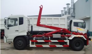 HOWO Hook Lift Garbage Truck (QDZ5160ZXXZH) pictures & photos
