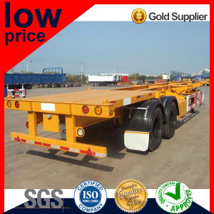 20FT/40FT 2 Axles Container Semi Trailer pictures & photos