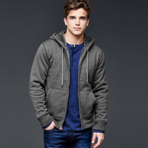 2016 Wholesale Custom High Quality Fleece Pullover Hoodies pictures & photos