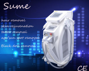 Best Selling Laser Machine Hair Removal Skin Rejuvenation Machine for Tattoo Removal pictures & photos