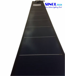 72W Solar Thin Film Metal Roofing Solar Panel Flexible pictures & photos