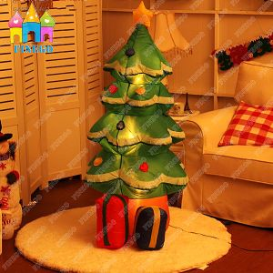 Event LED Light Giant Inflatable Christmas Santa Tree Decoration pictures & photos