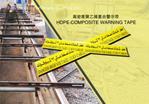 High Density Polyethylene Composite Cable Warning Tape