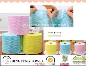 Non Woven Tissue Kitchen Paper Towel & Facial Paper Cloth Df-5918 pictures & photos